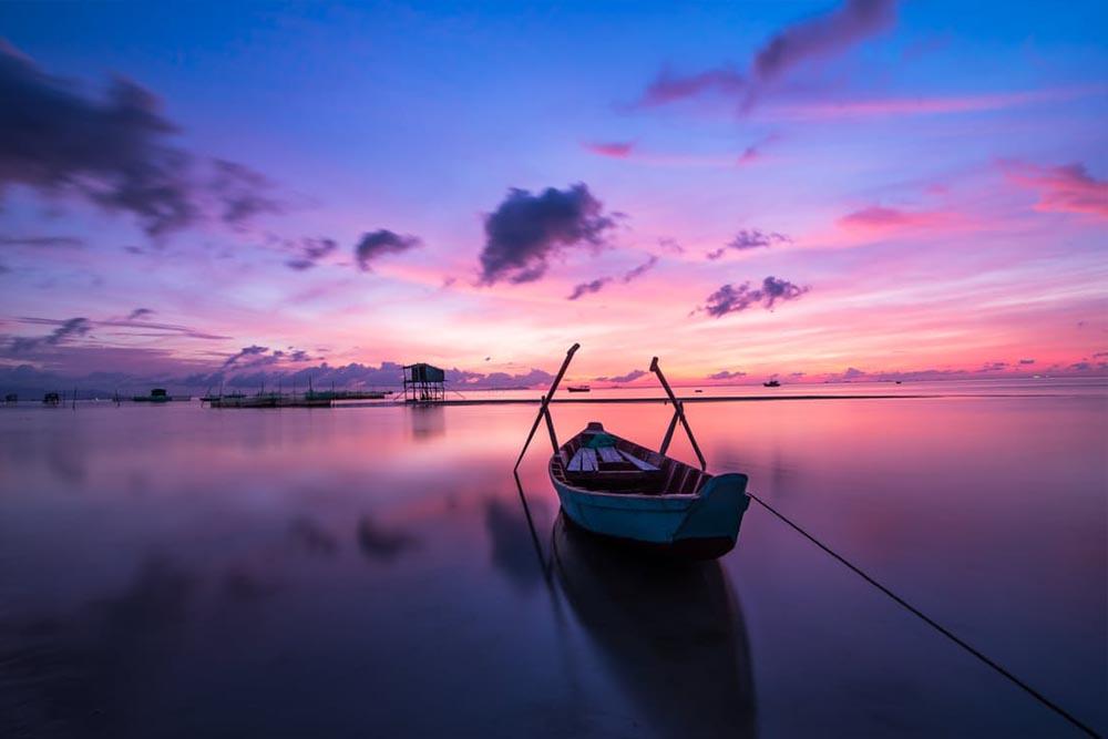 Båd i vandet